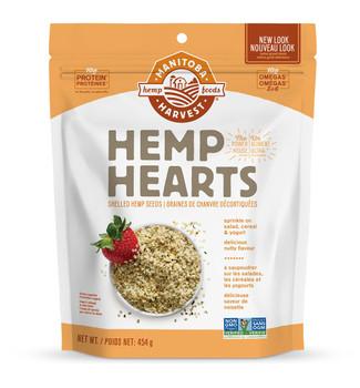 Manitoba Harvest Hemp Hearts,  Natural, 454g/16 oz., Bag {Imported from Canada}