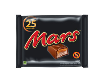 Mars Chocolate Halloween Candy Bars, (25pk) 325g/11.5 oz. {Imported from Canada}