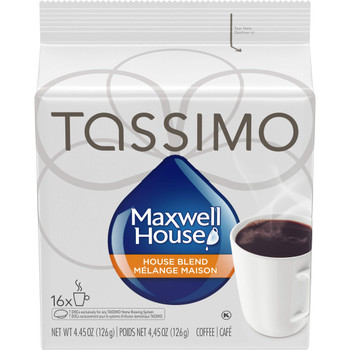 MAXWELL HOUSE House Blend Coffee, 126g, 16 Count {Imported from Canada}