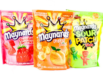 Maynards Bundle of 3 Bags of Candy 355g/12.5oz./bag (Imported from Canada)