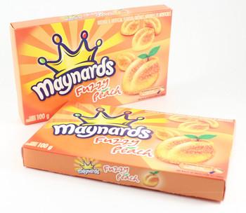 Maynards Fuzzy Peach Candy, 100g, 2ct