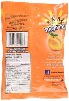 Maynards Fuzzy Peach Candy, 185g, 2ct, {Imported from Canada}