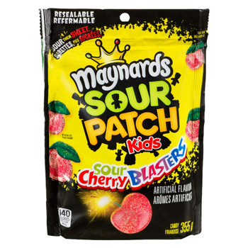 Maynards Sour Cherry Blasters Candy, 355g/12.52oz {Imported from Canada}