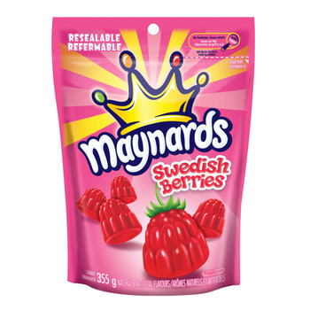 Maynards Swedish Berries 355g (12.5oz) {Imported from Canada}