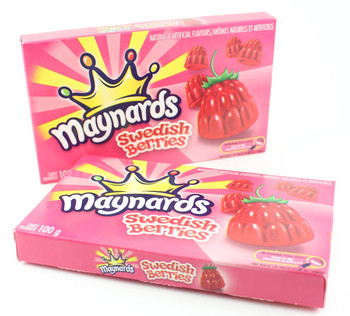 Maynards Swedish Berries Candy, 100g/3.5 oz, 2ct {Imported from Canada}