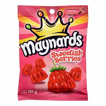 Maynards Swedish Berries Gummies, 185g/6.5oz (3pk) {Imported from Canada}