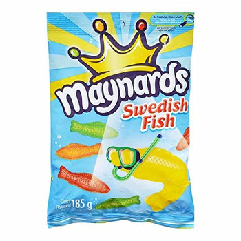 Maynards Swedish Fish 185g (6.5oz) {Imported from Canada}