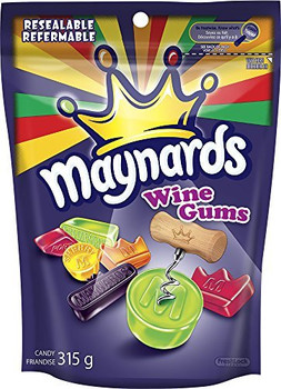 Maynard's Wine Gums 315g (11.1oz) by Maynards Wine Gums