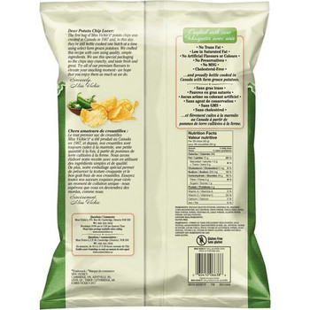 Miss Vickie's Kettle Cooked Jalapeno Potato Chips 220g {Imported from Canada}