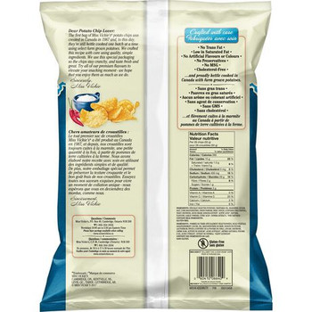 Miss Vickie's Kettle Cooked Sweet Chili & Sour Cream Potato Chips 220g {Imported from Canada}