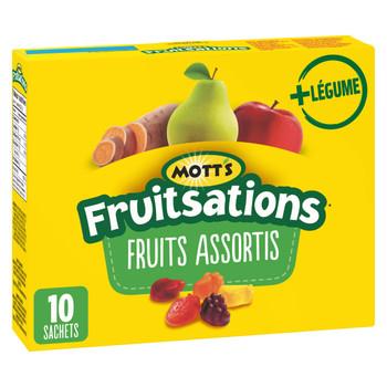 Motts Fruitsations + Veggie/Fruit Flavoured Snacks Gluten Free {Canadian}
