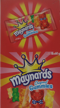 Maynard's Original Gummies (60g / 2.1oz per pack) 18ct {Imported from Canada}