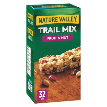 Nature Valley Fruit Nut Chewy Trail Mix, 32pk, 1.12kg/2.5lbs {Imported from Canada}