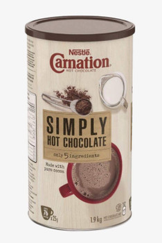 Nestle Carnation - Hot Chocolate Simply 5 Ingredients Powder Mix (~76 Servings, 1.9KG)