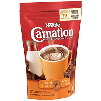 Nestle Carnation Rich and Creamy Hot Chocolate Mix, 450g {Imported from Canada}