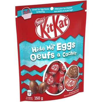 Nestle KitKat Easter Hide Me Chocolate Eggs 150g/5.3oz, (Imported from Canada)