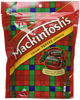 Nestle Mackintosh Mack Toffee Candy  246g/8.7 oz., Bag  {Imported from Canada}