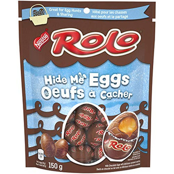 Nestle Rolo Easter Hide Me Chocolate Eggs, 150g/5.3oz,(Imported from Canada)