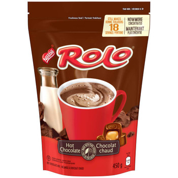 Nestle Rolo Hot Chocolate Cocoa Mix 450g/15.9oz, {Imported from Canada}
