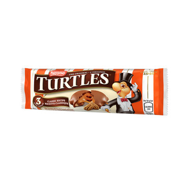 Nestle Turtles 100% Pecan, (10 Pack) {Imported from Canada}