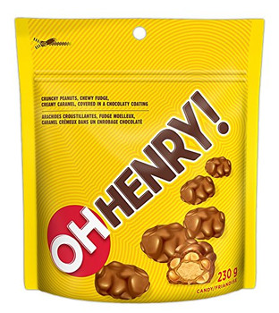 Oh Henry! Chocolate Bites 230g/8oz Imported from Canada