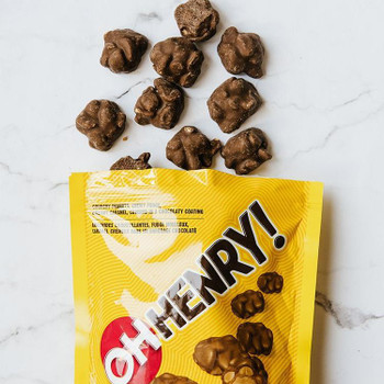 Oh Henry Chocolate Bites Peg Bag 104g/3.7oz (Imported from Canada)