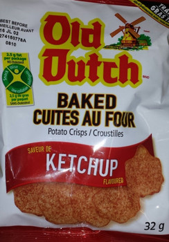 Old Dutch Baked Potato Chips, Ketchup, 32g/1.13 oz., {Imported from Canada}