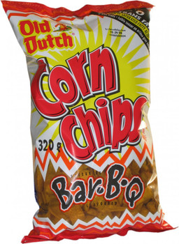 Old Dutch Corn Chips, Bar-B-Q, 320g/11.3oz  {Imported from Canada}