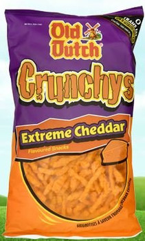 Old Dutch Crunchys, Extreme Cheddar, 280g/9.87oz {Imported from Canada}