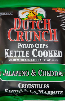 Old Dutch Dutch Crunch Jalapeno & Cheddar 40g/1.411oz Chips {Canadian}