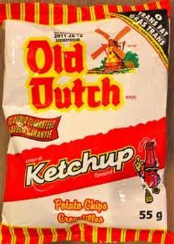 Old Dutch Ketchup Flavored Potato Chips (2 Pack) {Imported from Canada}