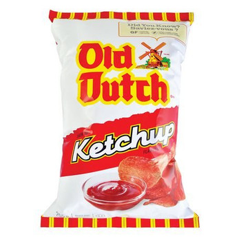 Old Dutch Ketchup Flavoured Chips - {Imported From Canada}