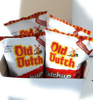 Old Dutch ketchup potato chips ~ 4 bags/40g {Imported from Canada}
