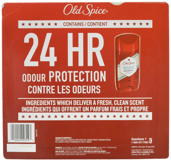 Old Spice High Endurance Deodorant, Pure Sport, 85g (5pk) {Imported from Canada}