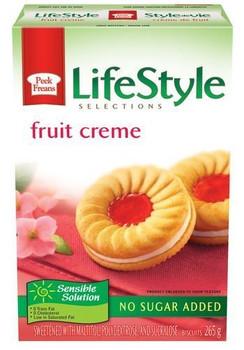 Peek Freans Lifestyle Fruit Creme Sandwich Cookies, 265g/9.3oz {Canadian}
