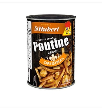 St Hubert Poutine Gravy  398ml/13.5 fl.oz.,  Cans (Pack of 3) {Imported from Canada}