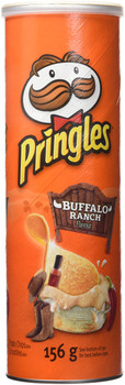 Pringles Buffalo Ranch Chips, 156g/ 5.5 oz.,  {Imported from Canada}