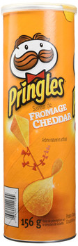 Pringles Cheddar Cheese Potato Chips, 156g/5.50oz can, (Imported from Canada)