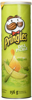 Pringles Dill Pickle Chips, 156g/5.5 oz., {Imported from Canada}