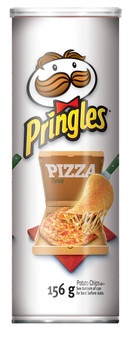 Pringles, Pizza Chips, 156g/5.50oz, (Imported from Canada)