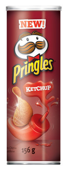 Pringles Potato Chips, Ketchup, 156g/5.50oz {Imported from Canada}