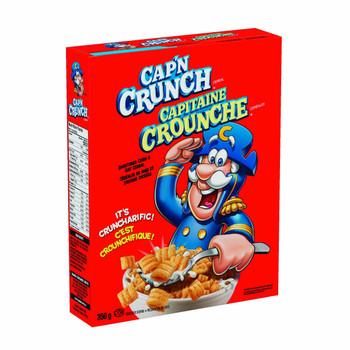 Quaker Captain Crunch Original, 350g/12.34oz /24ct {Imported from Canada}