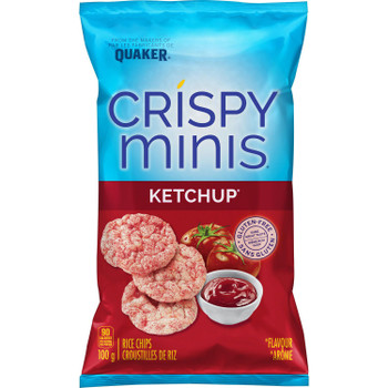 Quaker Crispy Minis Ketchup 100g/3.5oz (2 pack) {Imported from Canada}