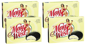 Vachon May West Cakes 324g Each, (4 Box) 6 Cakes {Imported from Canada}