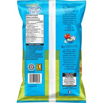 Quaker Crispy Rice Chips Creamy Ranch Tortilla Style 100g/3.5 oz., {Canadian}