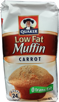 Quaker Muffin Mix Low Fat Carrot, 900g/31.7 oz., {Imported from Canada}