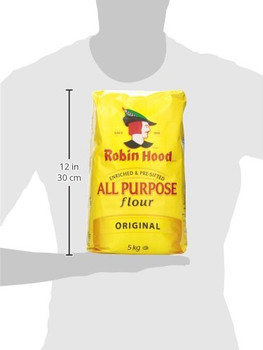 Robin Hood All Purpose Original Flour 5kg bag {Imported from Canada}