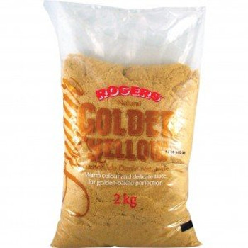 Roger's Natural Golden Yellow Sugar, 2kgs/4.4 lbs {Imported from Canada}
