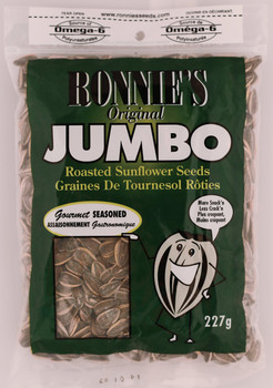 Ronnies Jumbo Seasoned Sunflower Seeds 227g{Imported from Canada}