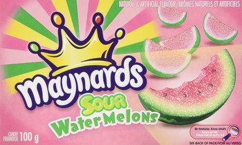 Maynards Sour WaterMelons Candy, (6pk) 100g/3.5oz., {Imported from Canada}